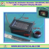 1x Digital AC Voltmeter Ammeter 130-500VAC 50A LED 7's Segment Display Module