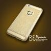 เคส iphone 6/6s สีทองใส+ลายGlitter ประกายวิ้งสีทอง
