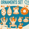 TABOM ORNAMENTS BLANKET