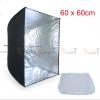 Umbrella softbox 60cm silver