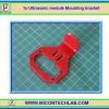 1x Ultrasonic module Mounting bracket (ที่ยึดโมดูลอัลตร้าโซนิค HC-SR04)