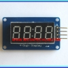 1x TM1637 7's Segment Red LED 4 digit with Clock dot 0.36 in module