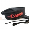 สายคล้องกล้อง Canon Red on Black Neck Strap Neoprene