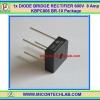 1x DIODE BRIDGE RECTIFIER 600V 8 Amp KBPC806 BR-10 Package