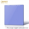 WYATT 100x100mm Square Natural Night Clear-Night Light Pollution Glass Filter