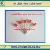 5x LED Red Color 3mm (แอลอีดีสีแดง 3มม 5 ตัวต่อชุด)