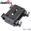 SMALLRIG® Baseplate with Dual 15mm Rod Clamp 1798