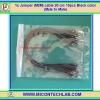 1x Jumper (M2M) cable 20 cm 10pcs Black color (Male to Male)
