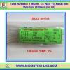 100x Resistor 1 MOhm 1/4 Watt 1% Metal film Resistor (100pcs per lot)