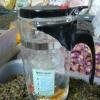 แก้วชงชา แบบสำเร็จรูป มีที่กรองในตัว 1000 ML. คุณภาพอย่างดี