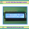 1x LCD 16X2 Blue Backlight module