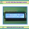 1x LCD 16X2 Blue Backlight module