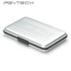 PGYTECH silver SD SDHC CF Memory Card Case Carrying bag Box Holder Protector