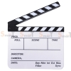 (Q004) whiteboard Movie Film Slate ( white )