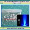 10x LED 5mm Blue Water Clear Super Bright (10pcs per lot)