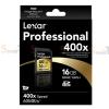 Memory SDHC Lexar Professional 16GB 400X