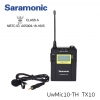 Saramonic UWMIC10-TH 96-Channel transmitters Digital UHF Wireless Lavalier Microphone System