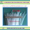 1x Heat Shrink Tube 3.5 mm White Color 1 meter Length (ท่อหดสีขาวใส)