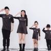 เสื้อครอบครัว ชุดครอบครัว พ่อ แม่ ลูก Mini Hearts Set