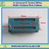 1x Universal IC Socket 28Pins Width 15.24mm/ 0.6 inch