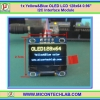 "1x Yellow&Blue OLED LCD 128x64 0.96"" I2C Interface Module"