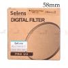 Selens Pro UV 58mm Ultra-thin