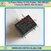 1x เพาเวอร์รีเลย์ 12Vdc ยี่ห้อ FUJITSU 20A 250VAC 1 Form A ( SPST) แบบมีแท็ปต่อ