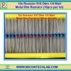 10x Resistor 510 Ohm 1/4 Watt 1% Metal film Resistor (10pcs per lot)