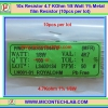 10x Resistor 4.7 Kohm 1/8 Watt 1% Metal film Resistor (10pcs per lot)