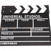 (Q001) Wood Movie Film Slate ( black )
