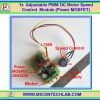 1x PWM Power MOSFET DC Motor Speed Control 12-35V 3A Module