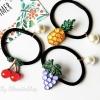 เลือกลายด้านในค่ะ รัดผม Jewel Fruity Korea HR96677