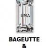 เพชรCZ ทรงสี่เหลี่ยมผืนผ้า สีขาว (BAGUETTE White) - Size 2x2.5mm - 1แพ็ค - 200เม็ด