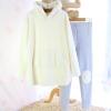 ชุดนอนญี่ปุ่นขนสัตว์ มีหมวกหมี สีขาว