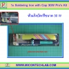 1x Soldering Iron with Cap 30W Pro's Kit (หัวแรงบัดกรี 30W)