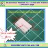 1x Aluminum Heatsink 16x11x5 mm with Thermal Conductive Tape