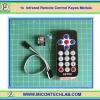 1x โมดูลรีโมทคอนโทรล (Infrared Remote Control Keyes Module)
