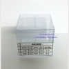 กล่องคัพเค้ก มาการอง 4.6 x 4.6 x 4.2 cm