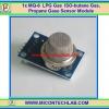 1x MQ-6 LPG Gas ISO-butane Gas Propane Gas MQ6 Sensor Module
