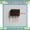 1x DIODE BRIDGE RECTIFIER 600V 25 Amp