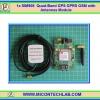1x SIM908 GPS GPRS/GSM 850/900/1800/1900 MHz with Antennas