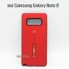 Case Samsung Note 8 สี แดง มีที่สอดมือ STUFF