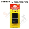 Battery PISEN Charger For NP-F570 F770 F970