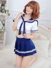 Pre Order / ชุดคอสเพลย์ นักเรียนญี่ปุ่น แบบเซ็กซี่ เสื้อ + กระโปรง ไม่มีจีสตริง