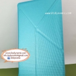 Clearance sales เคสหนัง Samsung TabS 8.4 สีฟ้าประกายมุก