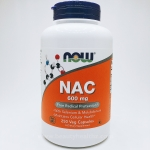 Now Foods, NAC, 600 mg, 250 Veggie Caps
