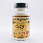 Healthy Origins, CoQ10 Gels, 100 mg, 60 Softgels