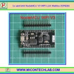 1x แผงวงจร NodeMCU V3 WIFI LUA WeMos ESP8266 Internet of things IOT