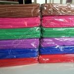 ขายส่ง ผ้าเช็ดผมนาโน สีพื้น (แบบบาง) ขนาด 30*70 cm ส่ง 11 บาท