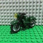 Dark green Motorcycle